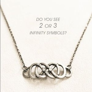 Accessories - Boho Chic Hair Chain - Triple Infinity Being